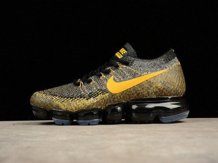 f4adba62219d Nike Air Vapormax Flyknit 849558-006 Gold-Black Shoe