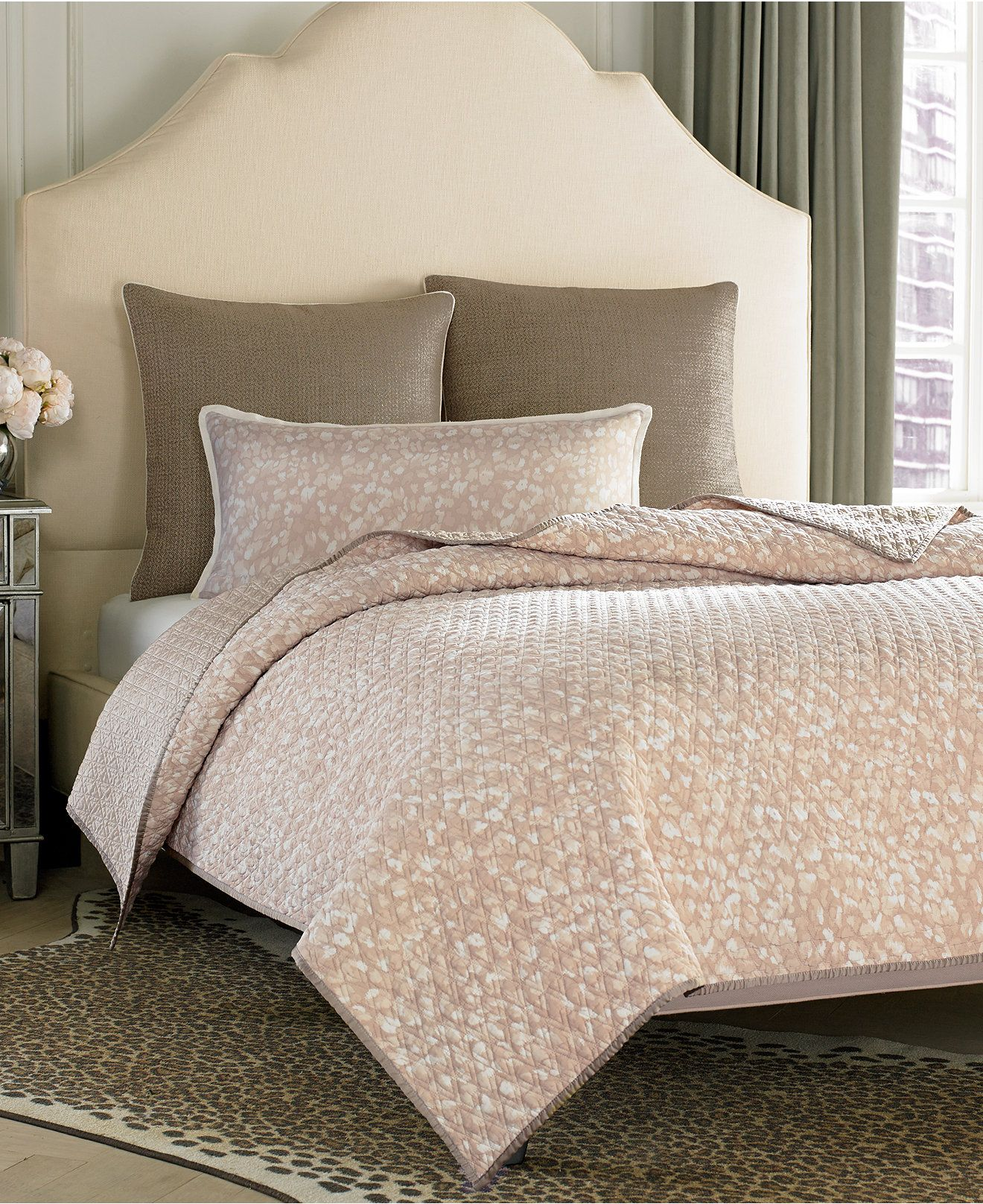 vince camuto home lisbon coverlet collection - bedding collections