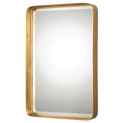 Uttermost Crofton Antique Gold Mirror Pinterest