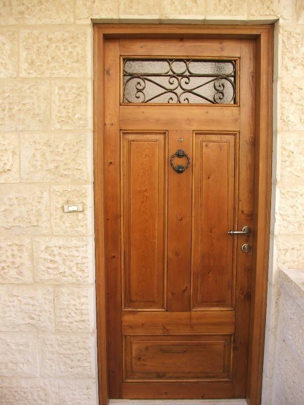 מדהים דלת כניסה עתיקה :: דלתות עתיקות :: דלת עץ מלא דלת כניסה מעץ מלא JH-18