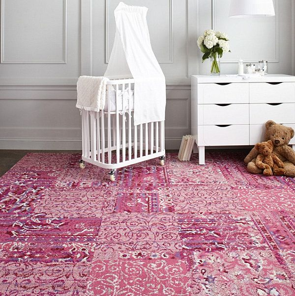 FLOR Carpet Tiles With The Look Of An Oriental Rug
