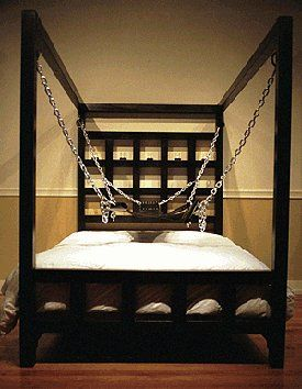 the dore alley bed | bondage bed wow!! | master bedroom