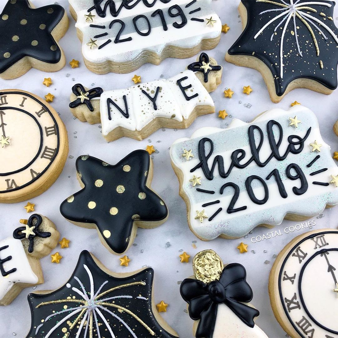 New years cookies image by kathy mcdonald on cookies