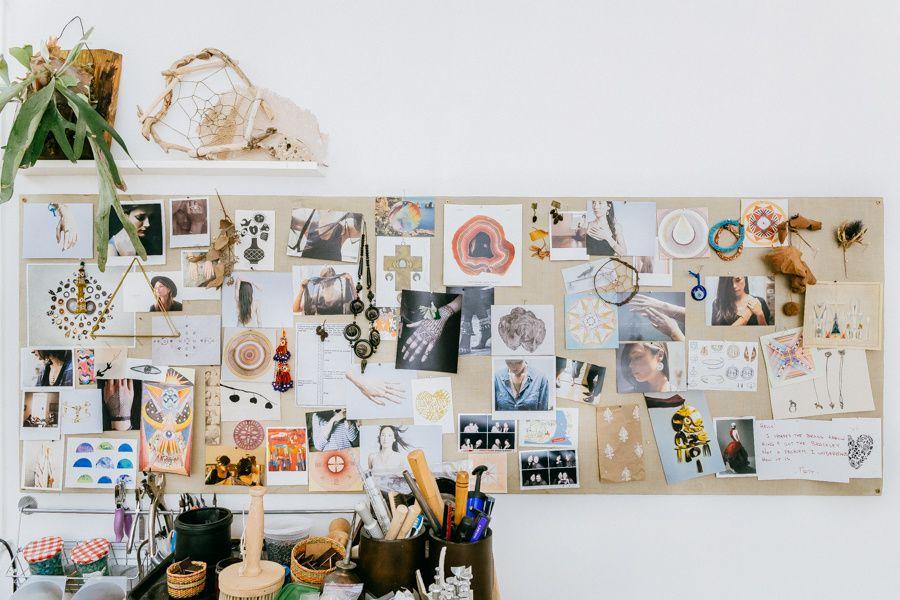 Odette Moodboard | photo by Driely S