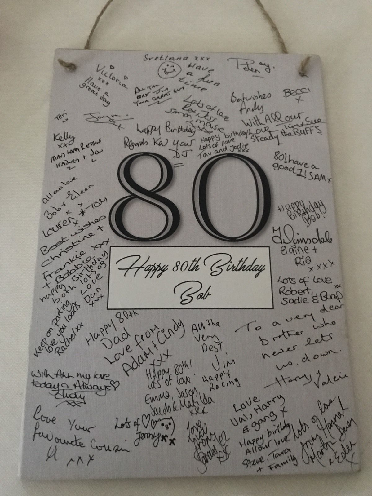 Party Signature Frame Guest Book Photo Plaque Birthday 16th 18th 21st 30th Pen Ebay Birthday Surprise For Mom Birthday Gifts For Grandma Guestbook Birthday
