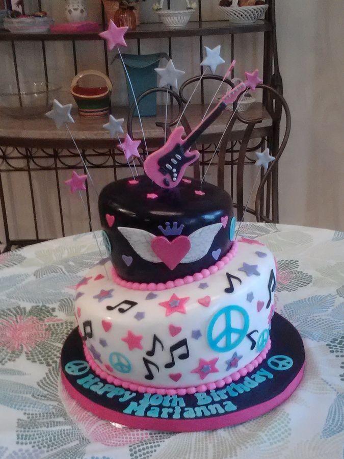 Rockstar Birthday Cakes In Rock Star Cake In Album Childrens