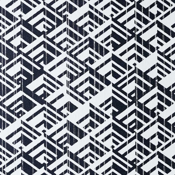 Papier Peint Jakarta Motifs 3d Noir Et Blanc En 2020 Papier Peint Papier Peint Art Deco Papier Peint Geometrique