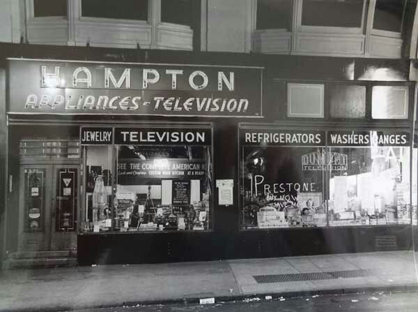 Appliance And Television Store 1950 S Vintage