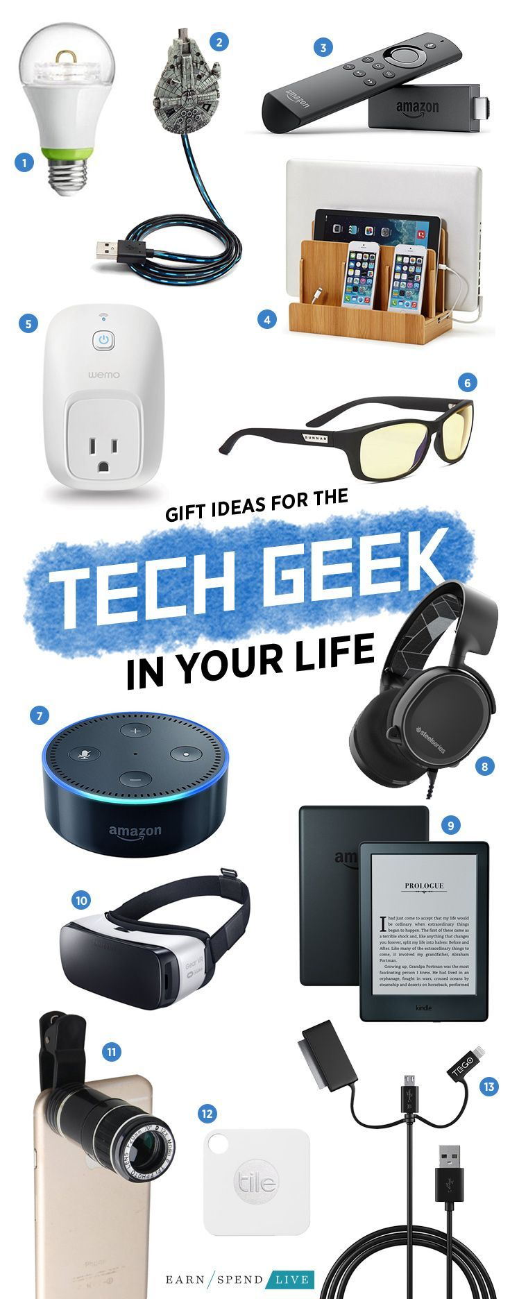 gift ideas for the tech geek in your life gifts for men gift guide for men christmas gifts for men christmas gift guide christmas gift guide for men