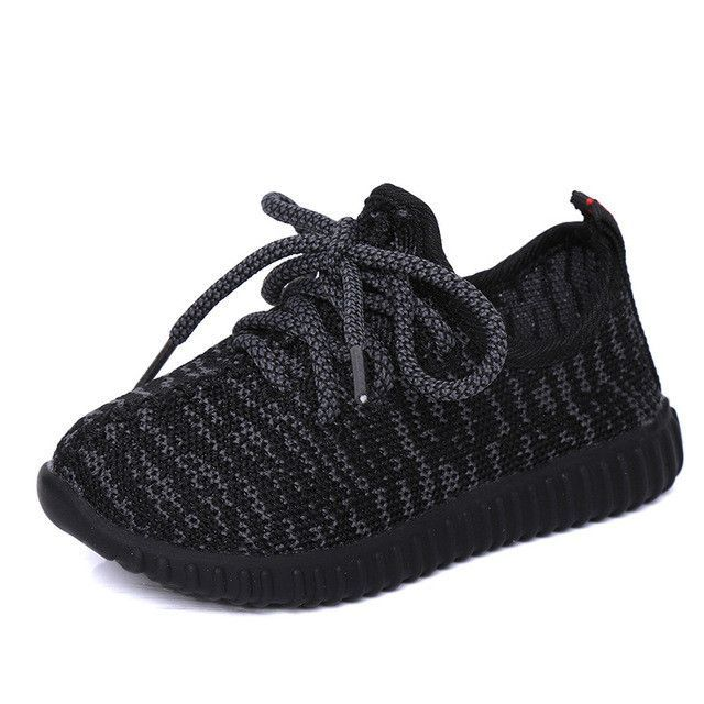 5a4093b05f54c Boys Shoes Girls Shoes 2017 Autumn Breathable Sport Soft Bottom Baby Boys  Mesh Shoes Kids Running Coconut Fashion Girls Sneakers