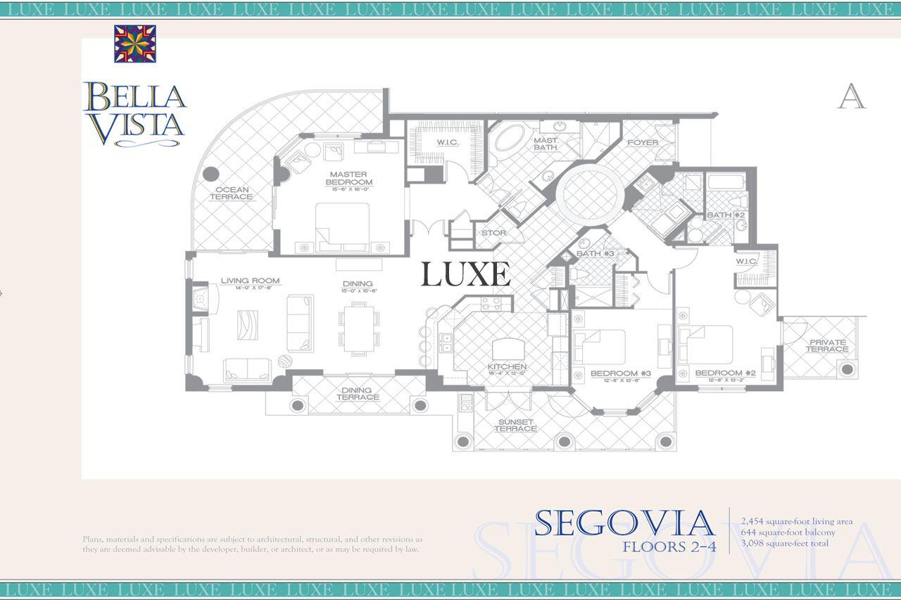 Bella Vista Condo Floor Plans Daytona Beach Oceanfront Real Estate For Sale Condo Floor Plans Floor Plans Beach House Plans