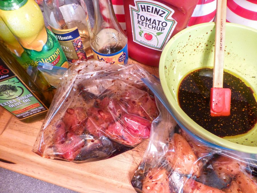 Marinade for Shish Kabobs (Chicken, Beef & Pork)