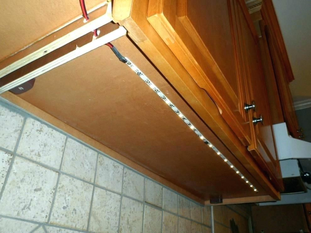 Led Strip Lighting For Kitchen Cabinets