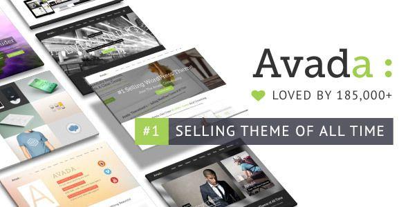 Avada v392 Responsive Multi-Purpose Theme Nulled Scripts Pinterest