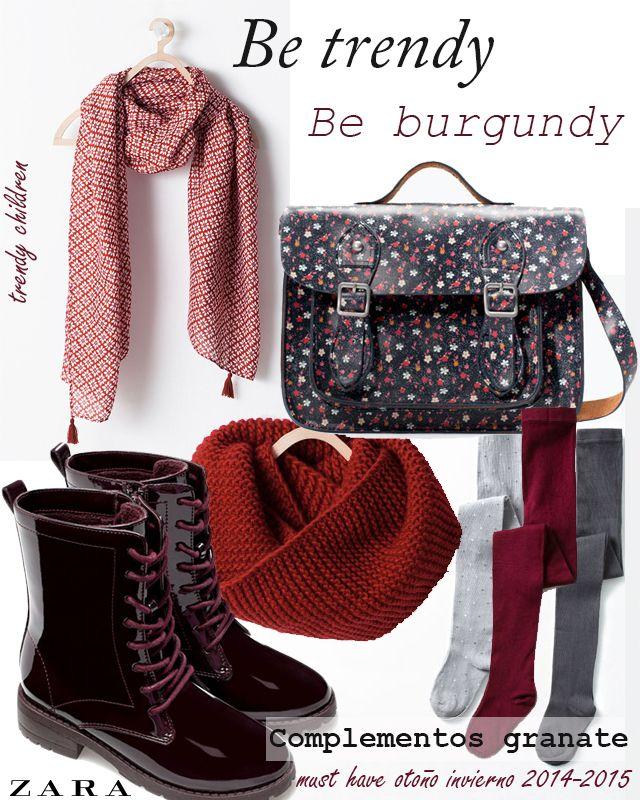 trendy children blog de moda infantil: THIS FALL IS BURGUNDY