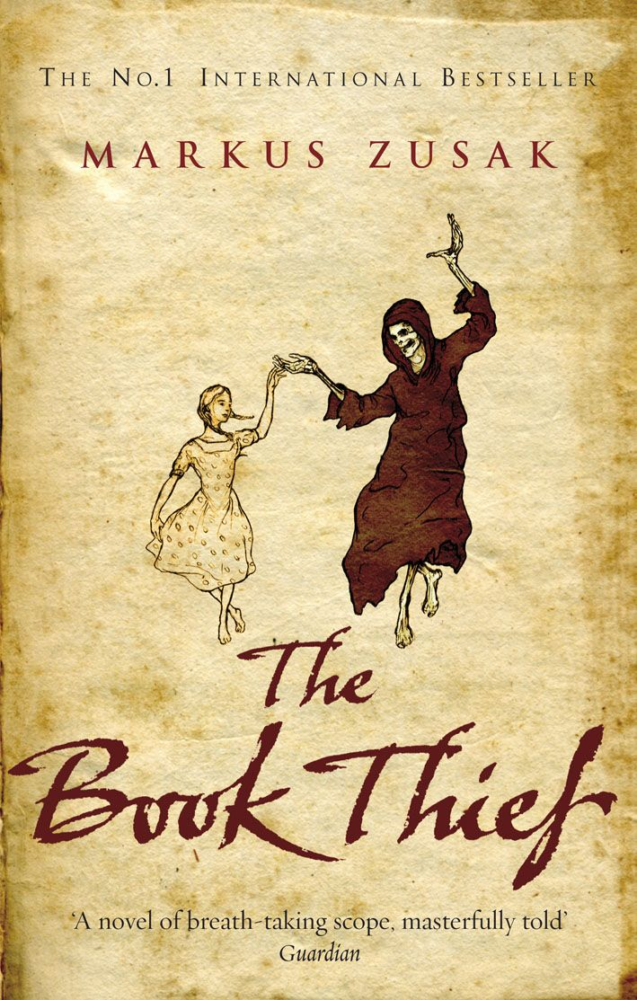 The Book Thief By Markus Zusak One of the top five books I've ever