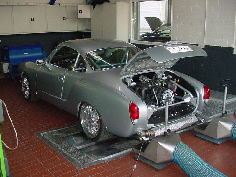 Karmann Ghia with a Porsche 993 Engine