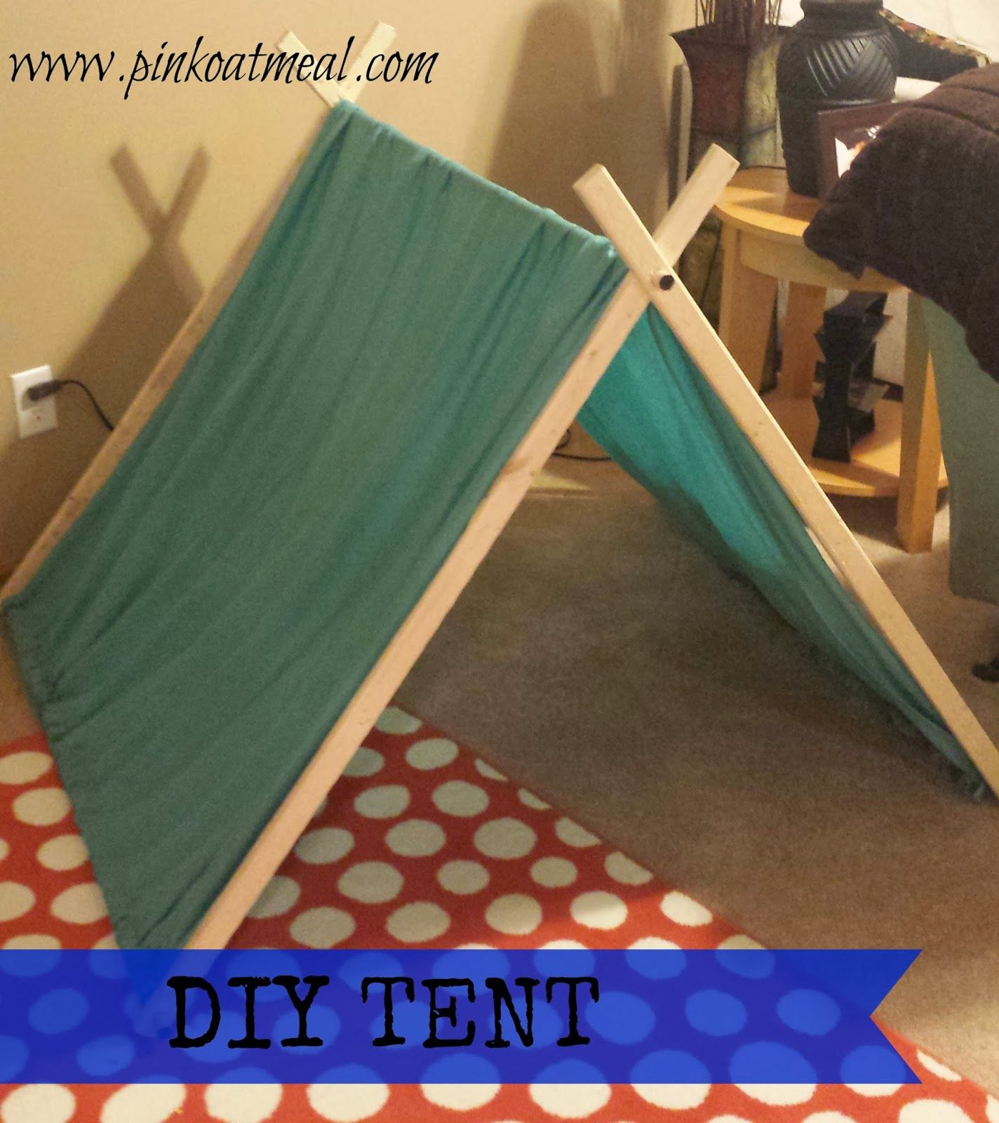 Diy Tent Super Easy This Would Be Great For A