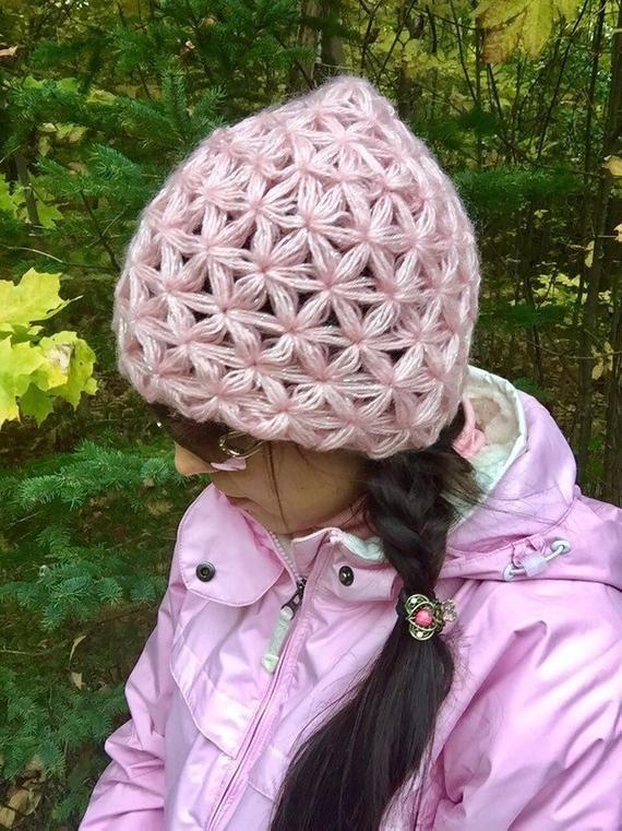 Crochet Jasmine Stitch Hat 6925632648d