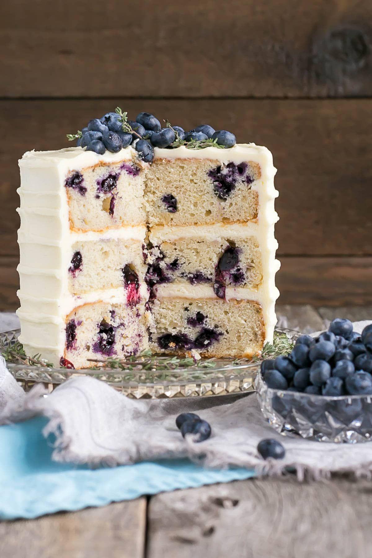 블루베리 바나나 케이크