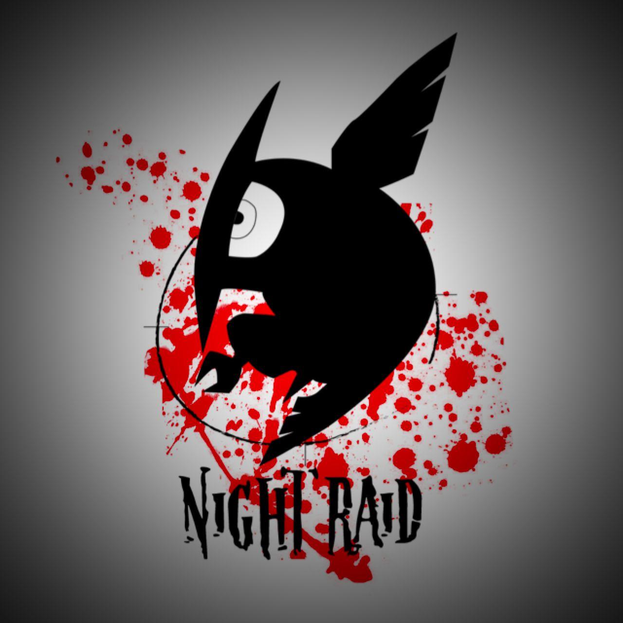 Night Raid Logo Akame ga Kill! Manganime Pinterest
