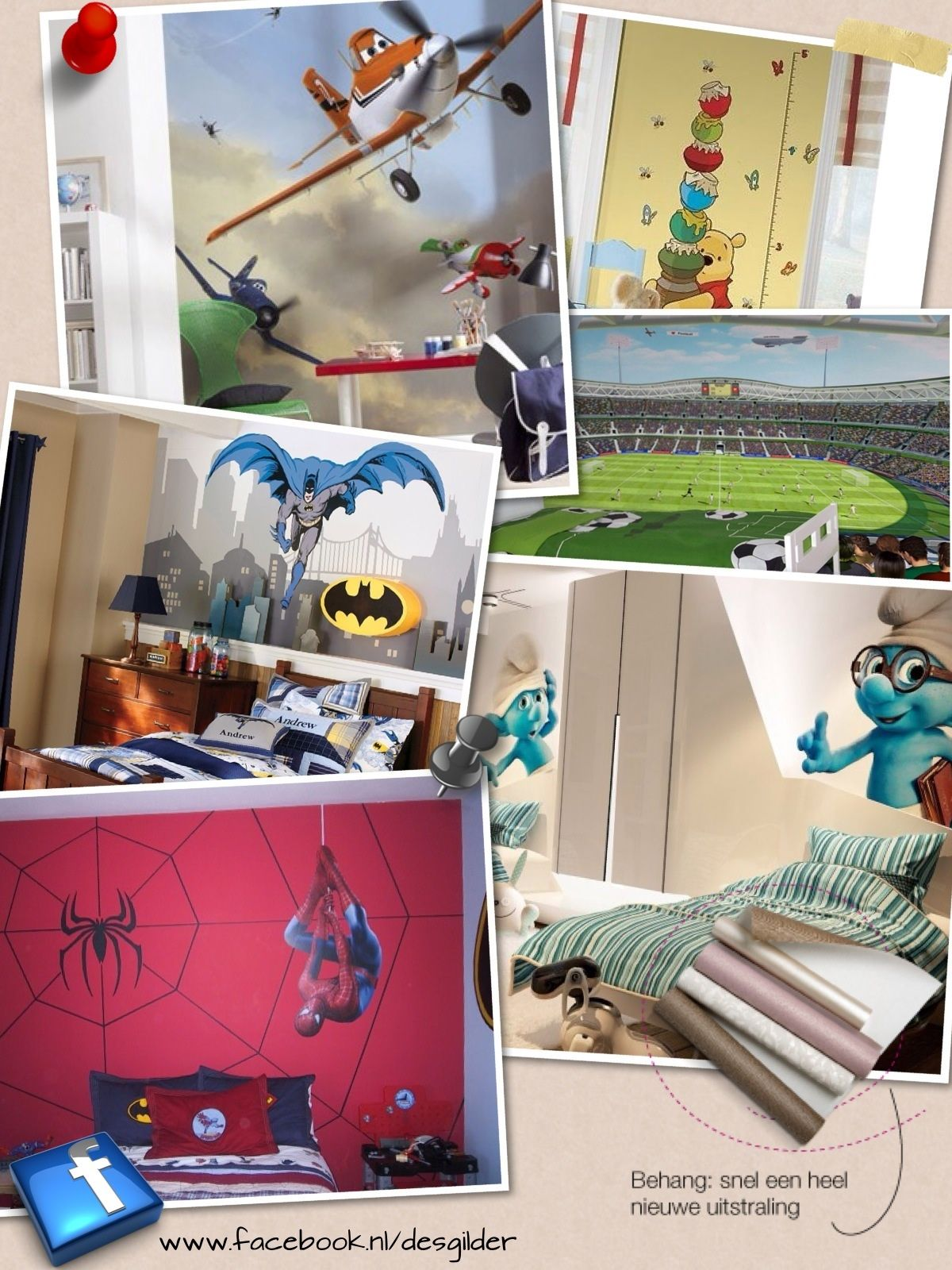 Foto-behang  www.desgilder.nl