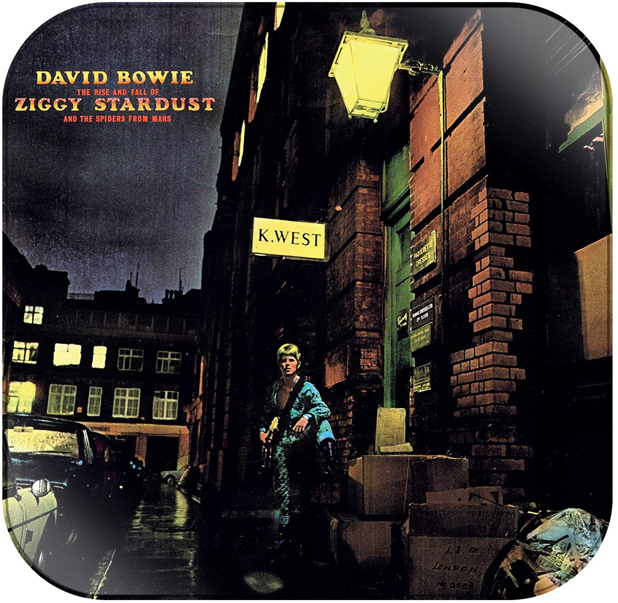 Decal Sticker David Bowie Ziggy Stardust Album Cover