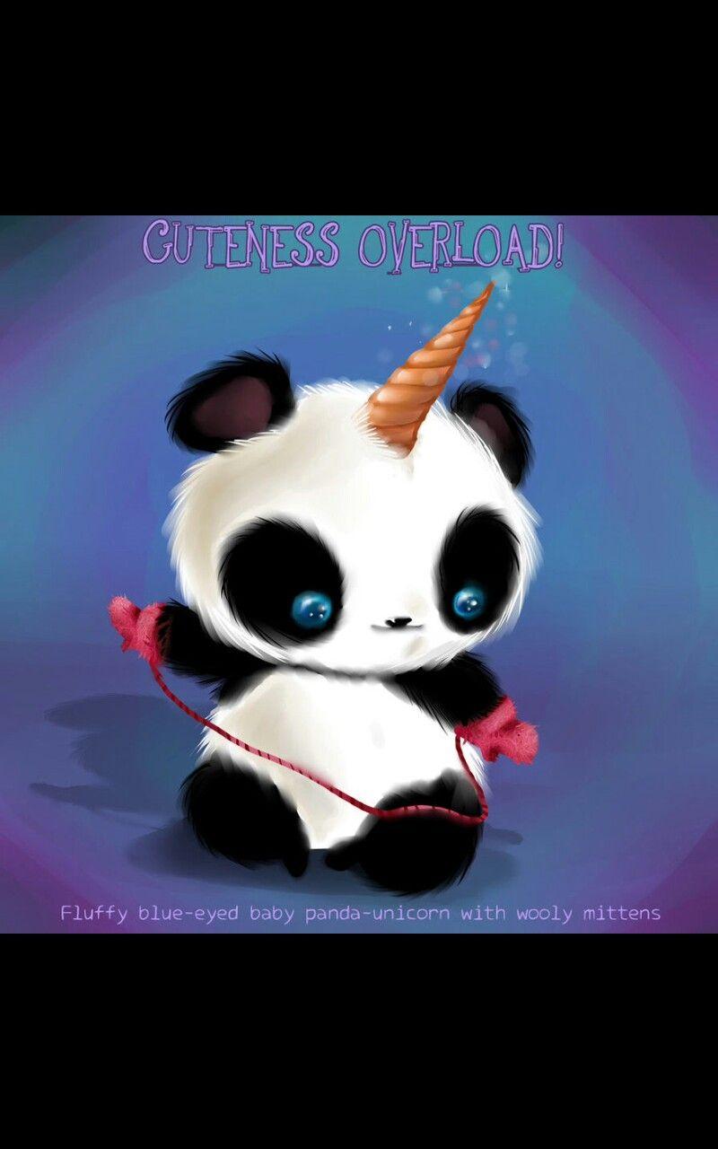 Pin By Pat M On Pandacorns With Images Panda Artwork Panda