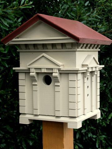 Richard t banks italianate architectural birdhouse for for Song bird house plans