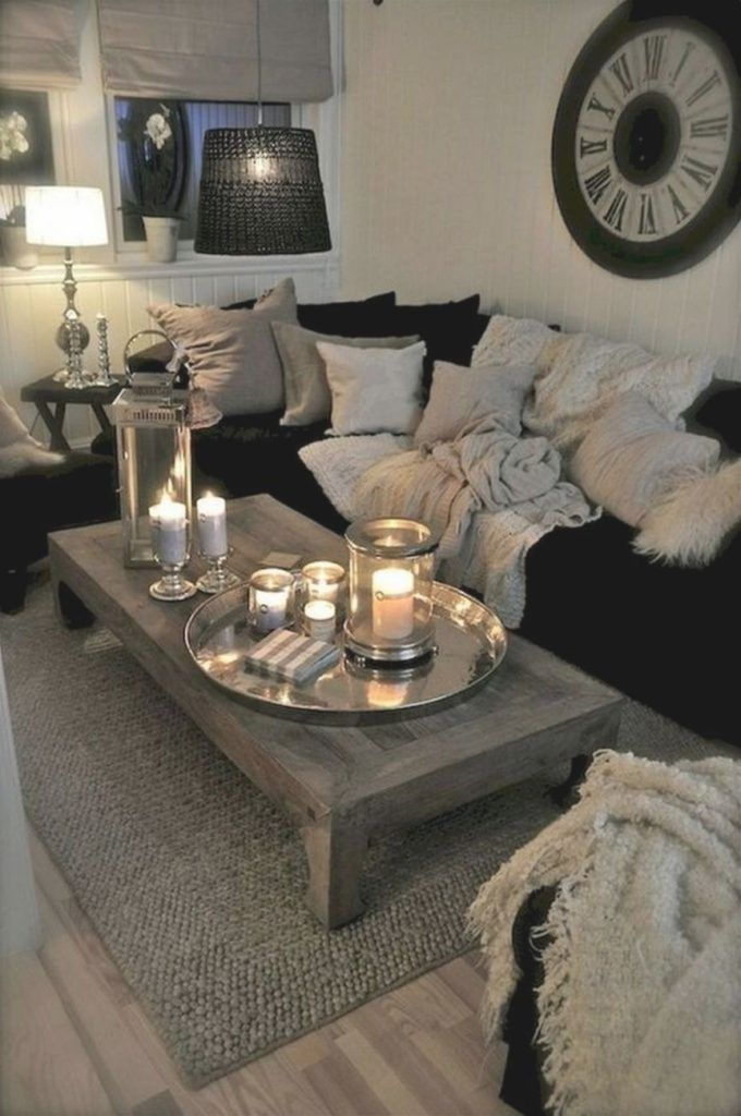 50+ Cozy Home Decor Apartment Living Room Ideas – Quotes İdeas