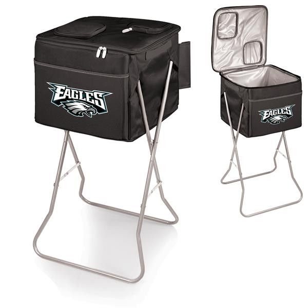 Philadelphia Eagles Digital Print Party Cube Cooler Black
