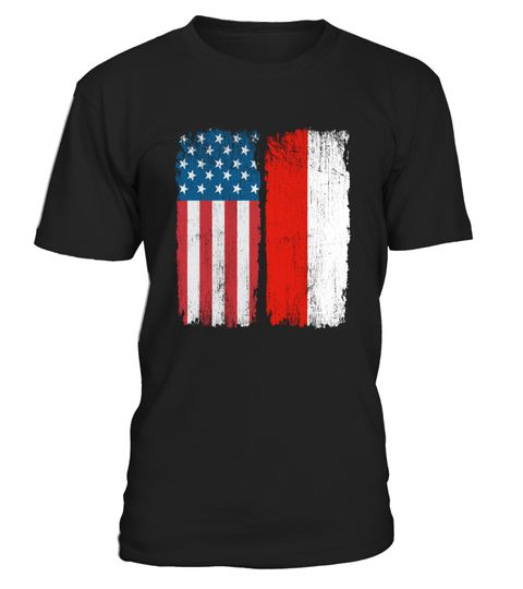 086a9064adf American POLISH Flag T-shirt . American POLISH Flag T-shirt Italy Pride  Italia Heritage