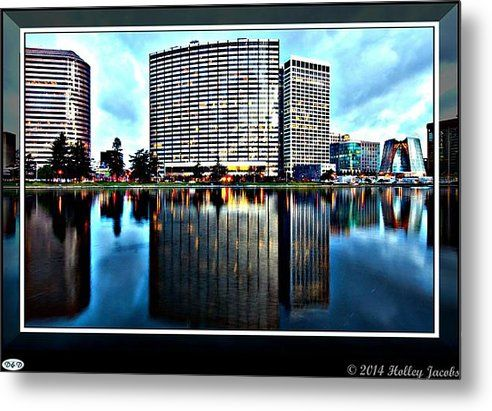 Oakland Metal Print By Holley Jacobs