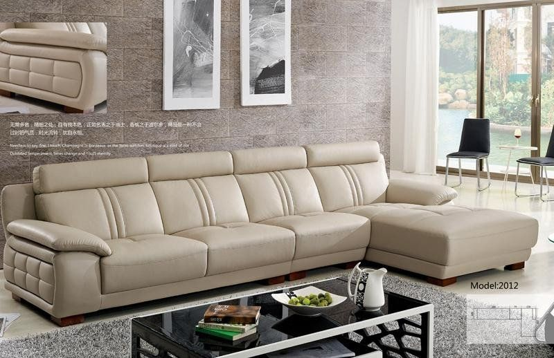 European Design L Shaped Cattle Leather Sofa Furniture Leather Sofa Furniture Sofa Design Corner Sofa Design
