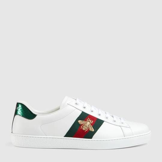 Gucci Sneaker bassa Ace ricamata. Gucci Sneaker bassa Ace ricamata Scarpe  Da Ginnastica ... abe5c8c0abc5