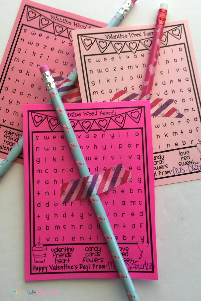 Valentine's Day Student Gift – Primary Playground