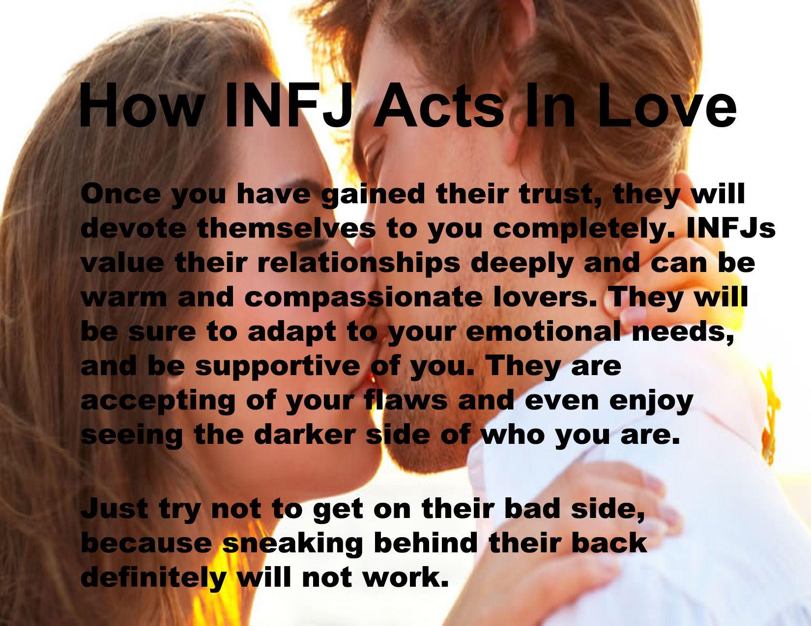 INFJ in love | INFJ . . . some INFP | Pinterest | Infj and