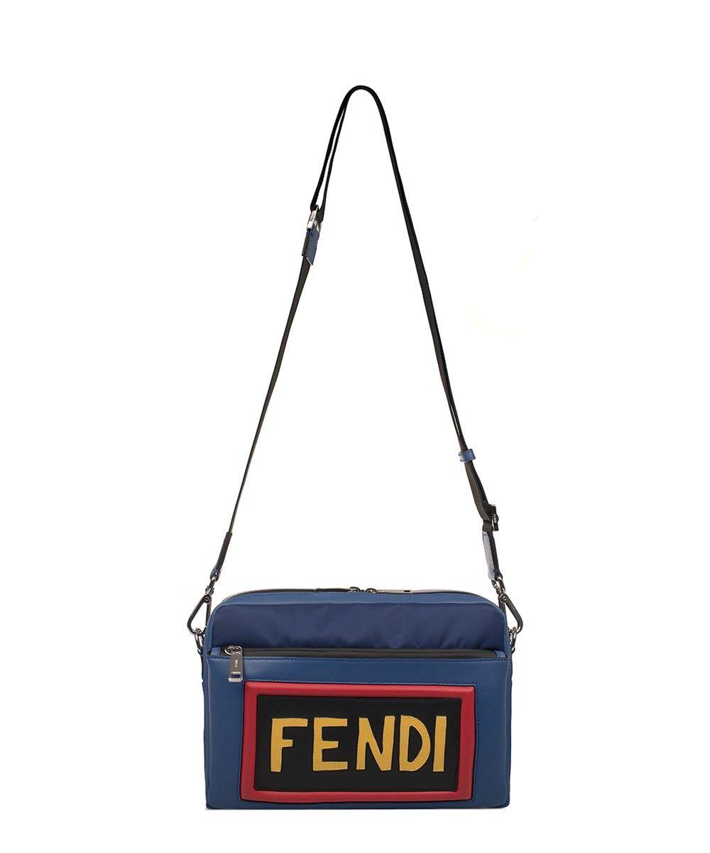 0447aaa8a8 FENDI Fendi Men s Blue Shoulder Bag.  fendi  bags  shoulder bags  leather