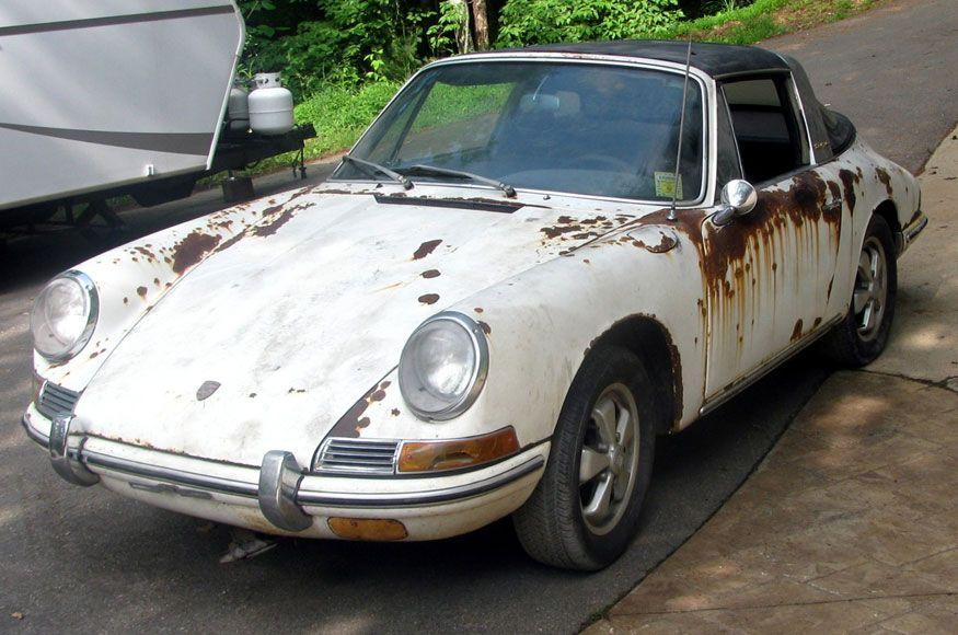 912 E Porsche Barn Find
