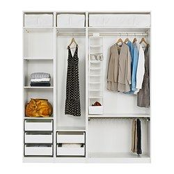 pax armoire avec am nagement int rieur ikea dressing pinterest int rieur ikea. Black Bedroom Furniture Sets. Home Design Ideas