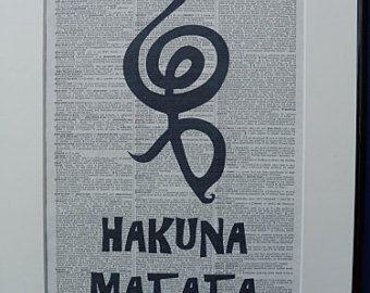 Hakuna Matata Significato Simbolo Cerca Con Google Artesanato