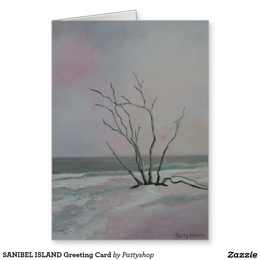 SANIBEL ISLAND Greeting Card   Zazzle.com   Sanibel island ...