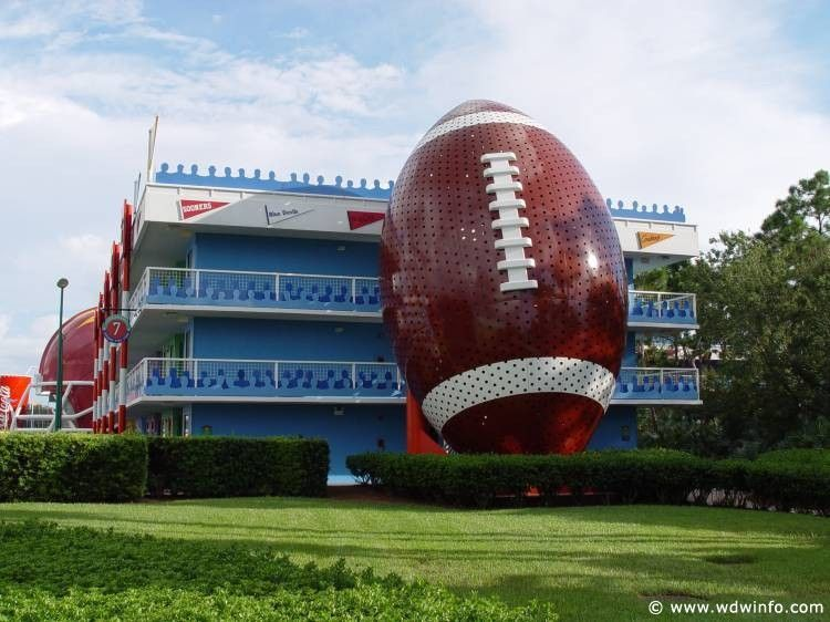 All Star Sports Resort (With images) Disney all star