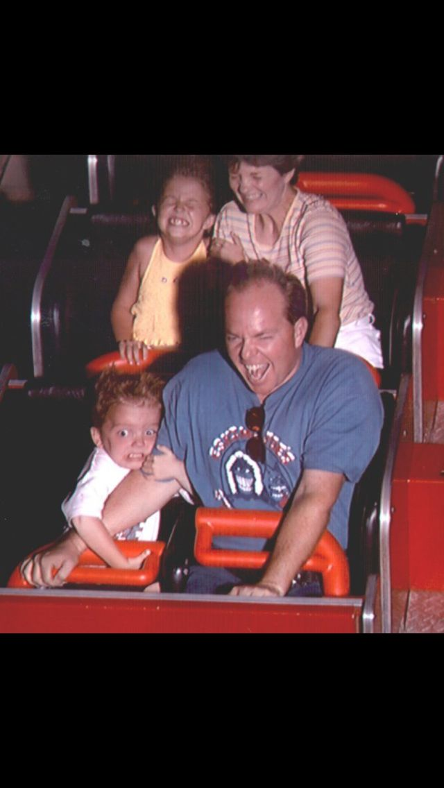 First roller coaster ride!