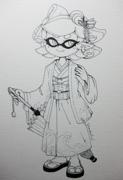 Mayor Of Mirage 18 Marie From Splatoon 2 I Love Splatoon S Splatoon Splatoon Comics Cartoon Coloring Pages