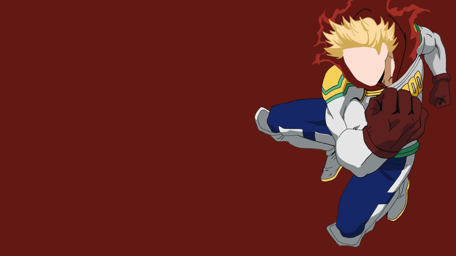 Lemillion Mirio Togata From My Hero Academia 1920 X 1080 In 2020 Hero Wallpaper Cool Anime Backgrounds My Hero