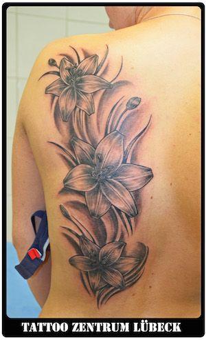 Galerie Blumen Und Schmetterlinge Tattoo Zentrum L 252 Beck