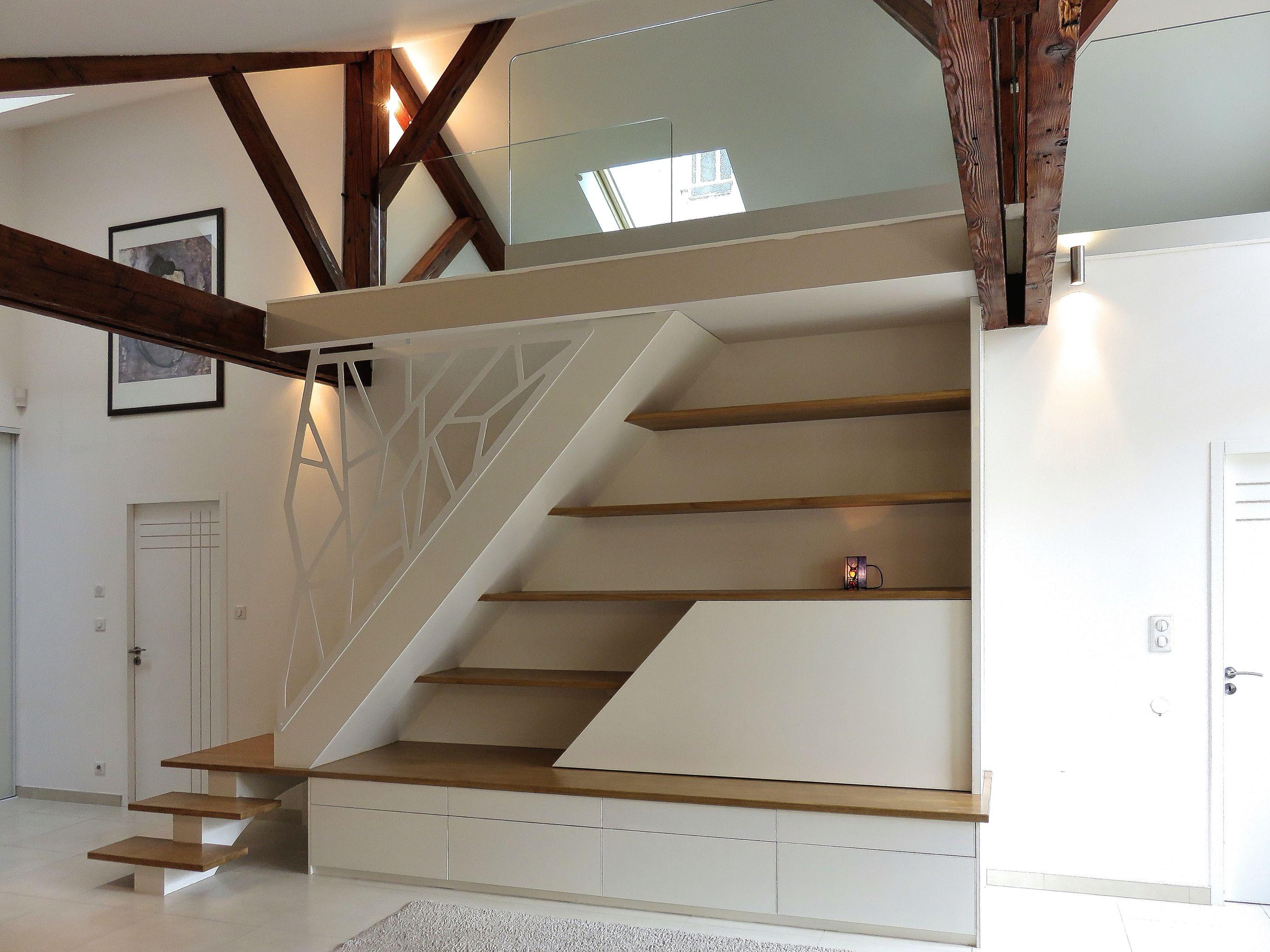 Escalier Mezzanine Rangement