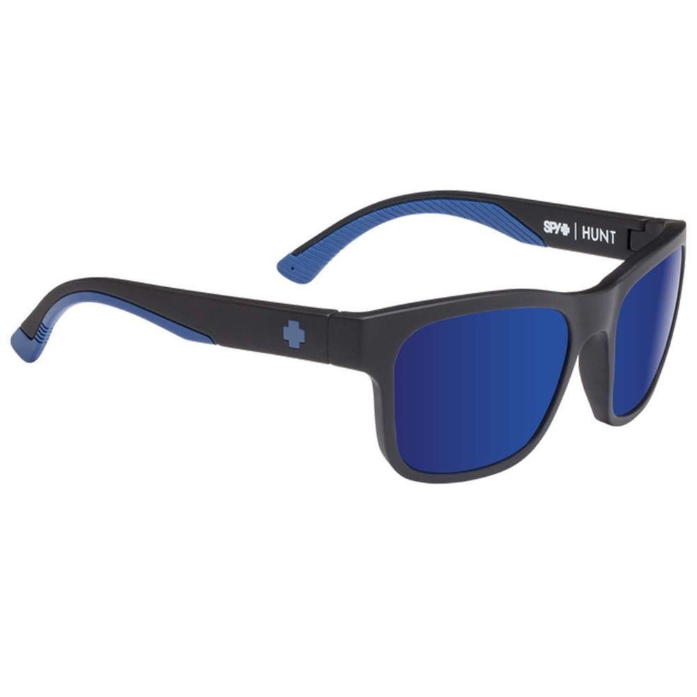 ac9f6e80e7bd eBay  Sponsored Spy Hunt Mens Matte Black Navy Happy Bronze Polarise Blue Spectra  Sunglasses SA