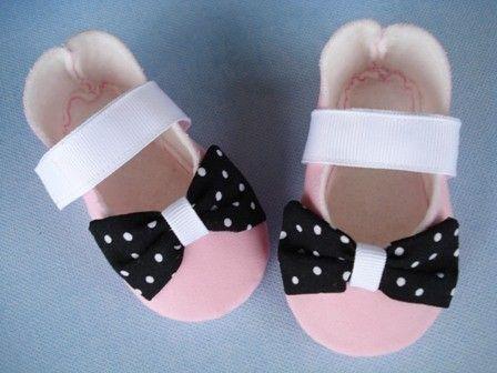 Patrón de costura de zapatos Mary Jane bebé por preciouspatterns